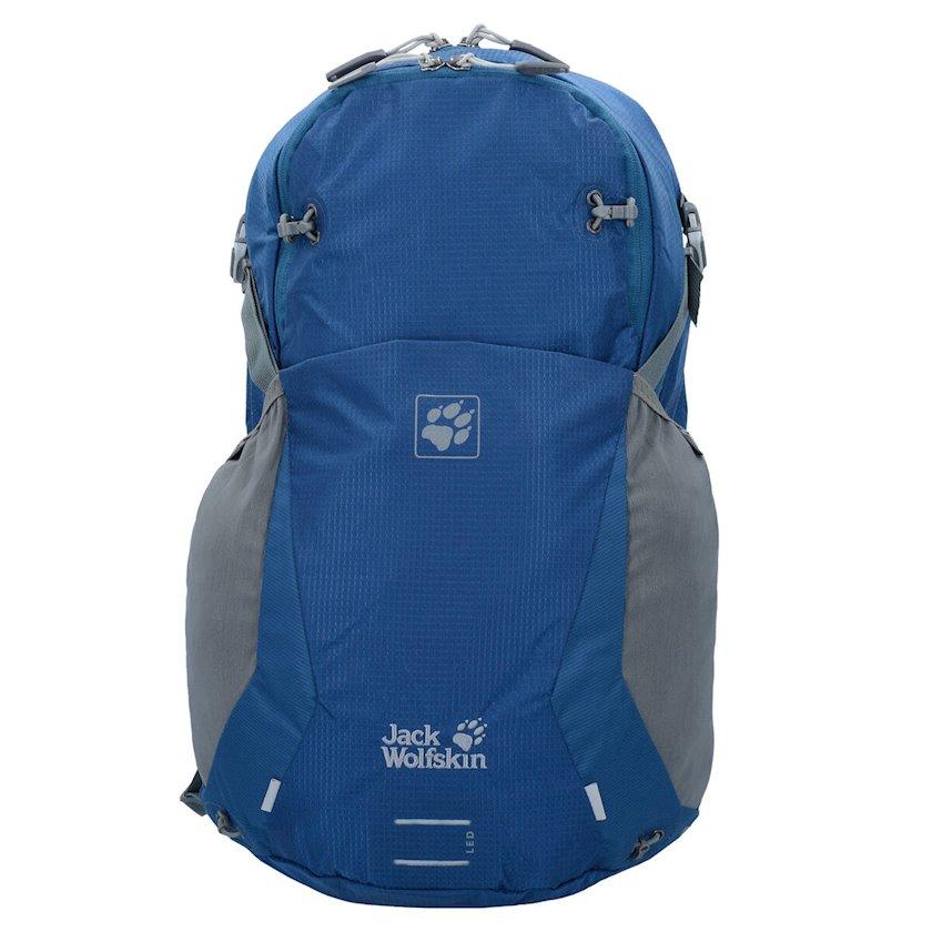 Velosiped bel çantası Jack Wolfskin Unisex Moab Jam 24L Poseidon Blue, Uniseks, Mavi, Həcm 24 l, 50 sm х 30 sm х 24 sm, 850 q