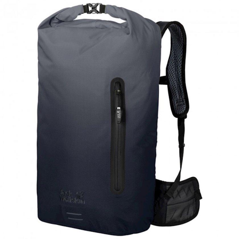 Bel çantası Jack Wolfskin Halo 26 Pack Aurora Grey, Uniseks, Boz/Qara, Həcm 26 l, 54 sm x 28 sm x 21 sm, 750 q