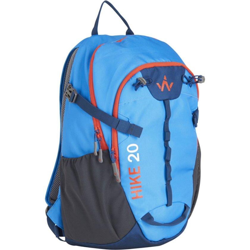 Bel çantası Wanabee Hike 20 Blue, Uniseks, Mavi, Həcm 20 l, 44 sm x 27 sm x 23 sm, 525 q