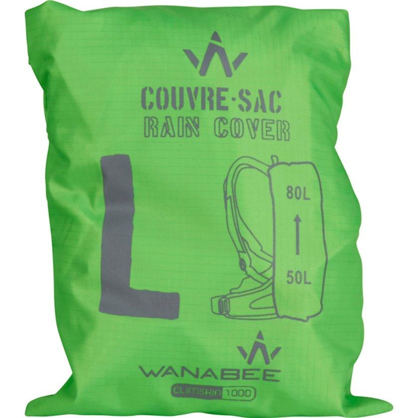 Bel çantası üçün çexol Wanabee Couvre Sac, Uniseks, Yaşıl, Həcm 50-80 l, Ölçü L