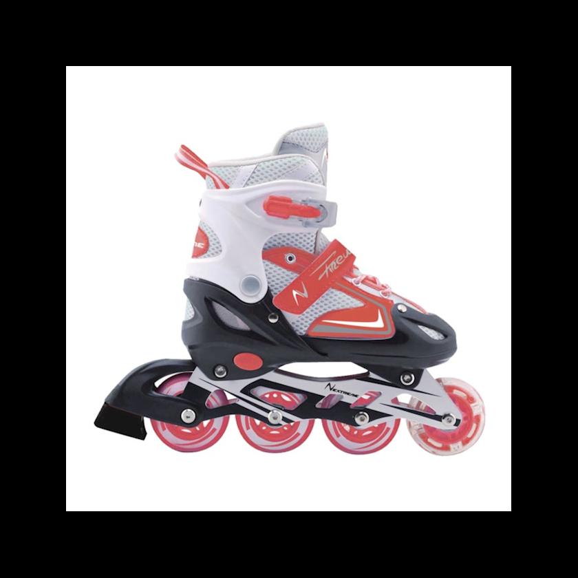 Diyircəkli konki Nextreme Rollers Firewheel Red, Uniseks, Qırmızı, 34-37