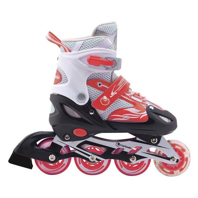 Diyircəkli konki Nextreme Rollers Firewheel Red, Uniseks, Qırmızı, 38-41