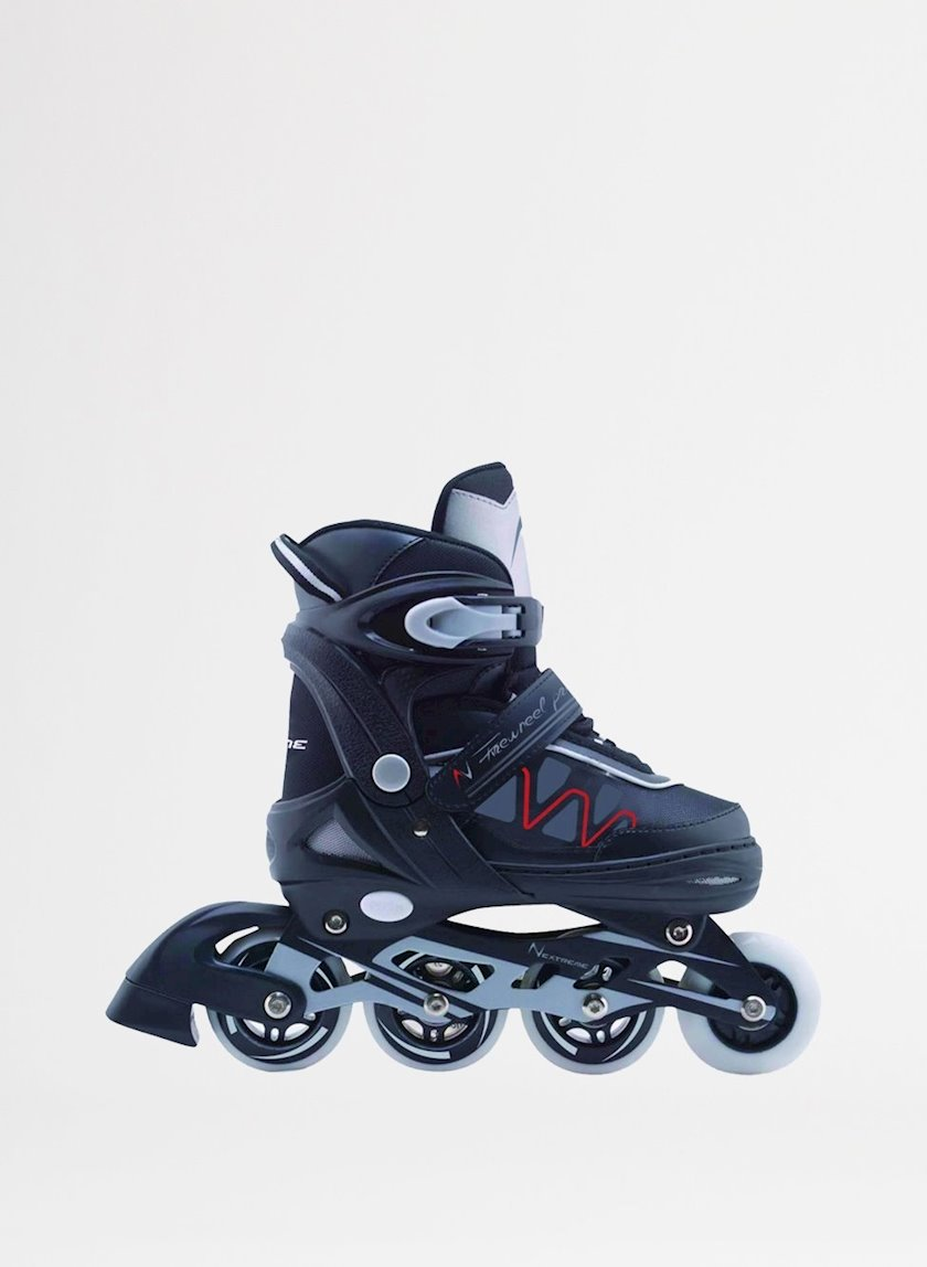Diyircəkli konki Nextreme Rollers Firewheel PRO Noir, Uniseks, Qara, 38-41