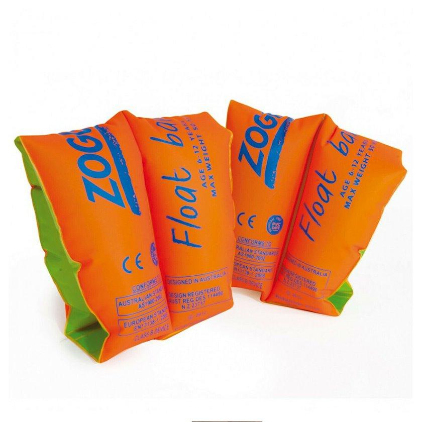 Şişirdilən qolluqlar Zoggs Float Bands 3-6, Uşaqlar üçün, Narıncı, Maksimal çəki 25 kq