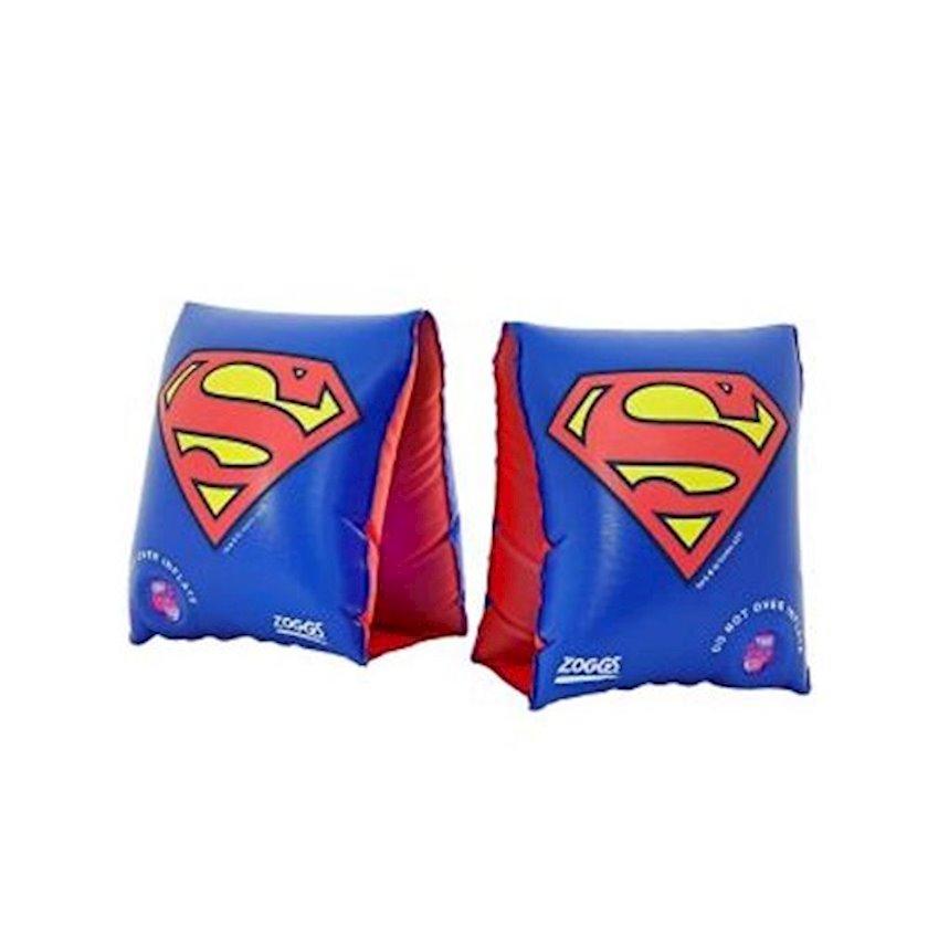 Şişirdilən qolluqlar Zoggs Superman Float Bands 2-6, Uşaqlar üçün, Mavi, Maksimal çəki 25 kq