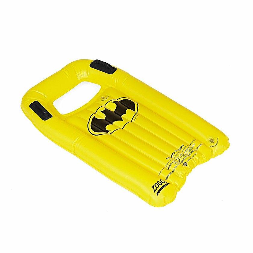 Şişirdilən döşək lövhə Zoggs Inflatable Body Board Batman, 2 tutacaq, Uşaqlar üçün, Sarı, 99sm*67sm