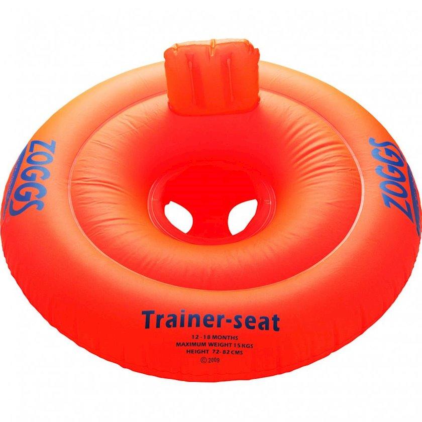 Şişirdilən dairə-oturacaq Zoggs Zoggy Trainer Seat Orange 12-18 month, Uşaqlar üçün, Narıncı/Yaşıl 73sm*67sm, Maksimal çəki 15 kq