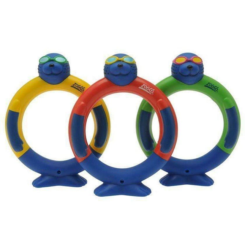 Dalış üçün halqalar  Zoggs Zoggy Dive Rings 3+, Uşaqlar üçün, Çox rəngli
