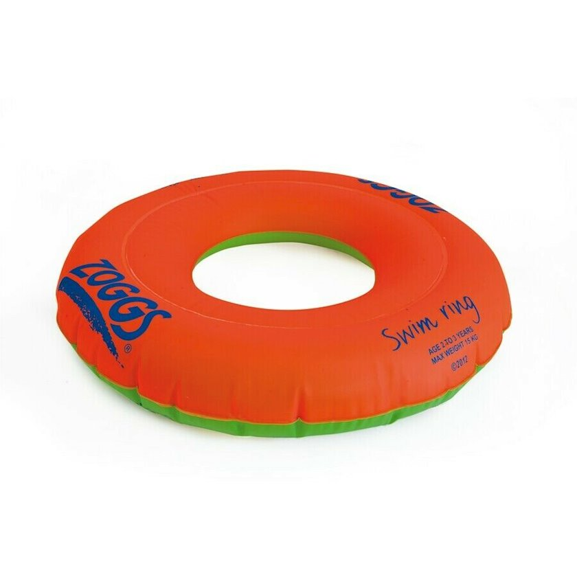 Şişirdilən dairə Zoggs Swim Ring Orange 2-3, Uşaqlar üçün, Narıncı/Yaşıl, Maksimal çəki 15 kq