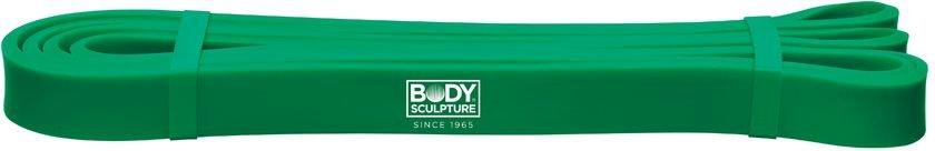 Espander Body Sculpture BB-104-19 Level 2, Yüklənmə Ağır, Uzunluğu 208 sm, Təbii lateks, Yaşıl