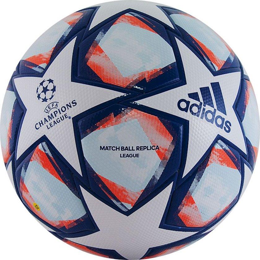 Futbol topu Adidas UCL Finale 20 League, Ağ/Göy/Narıncı, Ölçü 5