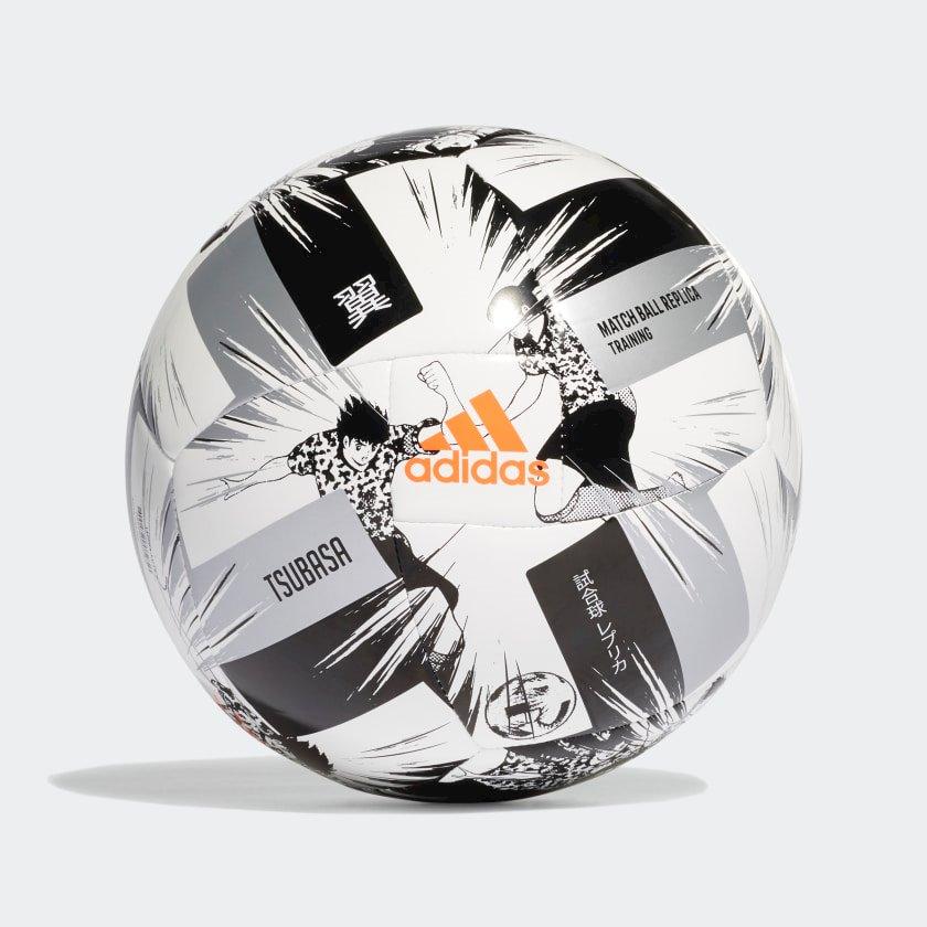 Futbol topu Adidas Captain Tsubasa, Ağ/Qara/Boz, Ölçü 3