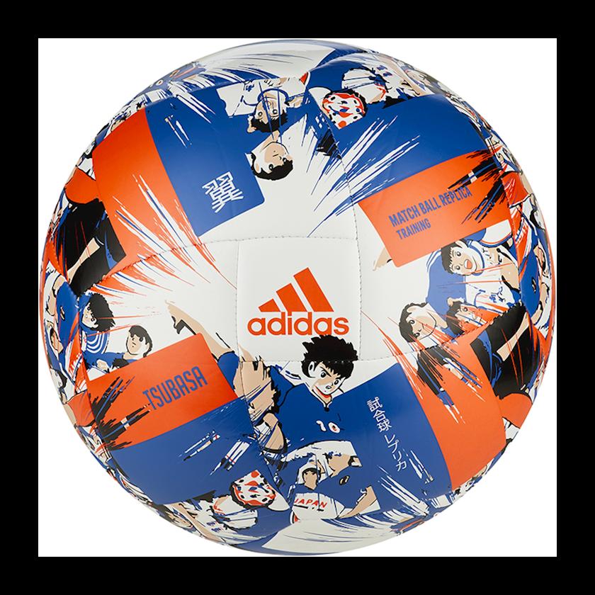 Futbol topu Adidas Captain Tsubasa, Ağ/Göy/Narıncı, Ölçü 5