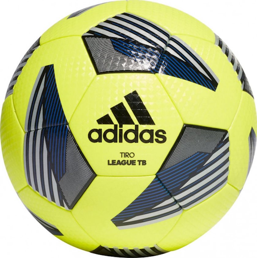 Futbol topu Adidas Tiro Lge TB, Sarı/Qara/Gümüşü, Ölçü 5
