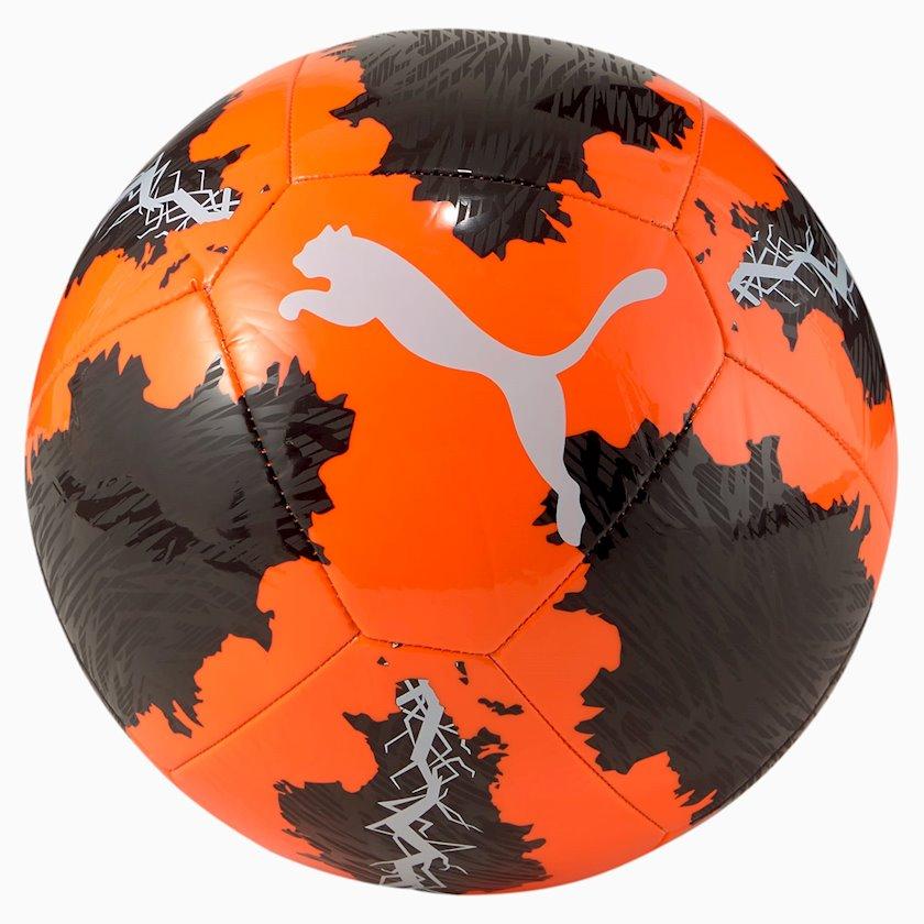 Futbol topu Puma Spin Ball, Narıncı/Qara/Ağ, Ölçü 4