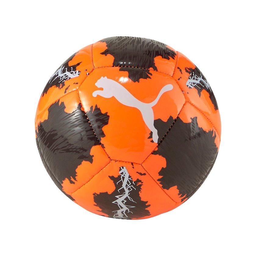 Futbol topu Puma Spin Miniball, Narıncı/Qara/Ağ