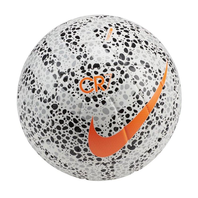Futbol topu Nike Strike CR7, Ağ/Qara/Narıncı, Ölçü 4