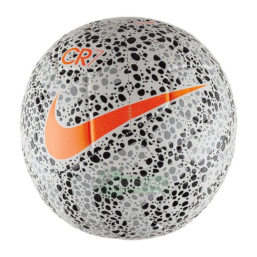 Futbol topu NIKE Skills CR7 Safari Football, Ağ/Qara/Narıncı, Ölçü 1