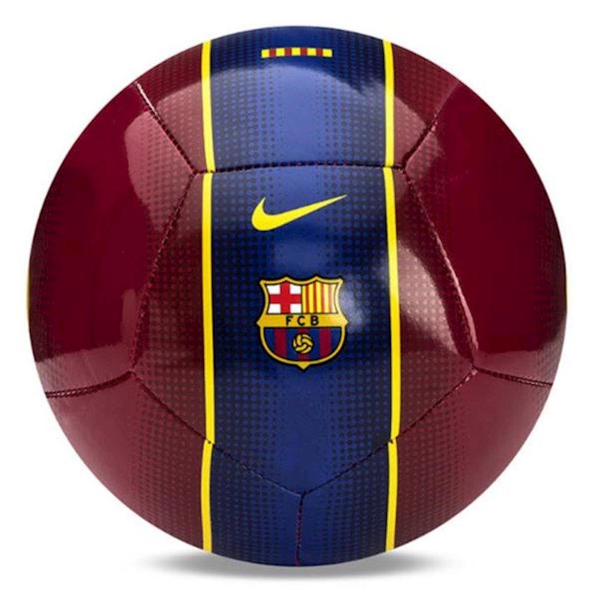 Futbol topu Nike FCB NK SKLS, Göy/Qırmızı, Ölçü 1