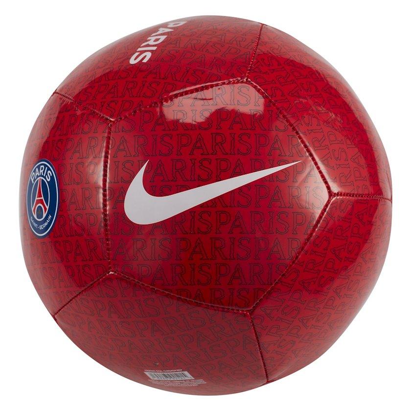 Futbol topu NIKE PARIS-SAINT GERMAIN PITCH, Qırmızı, Ölçü 4