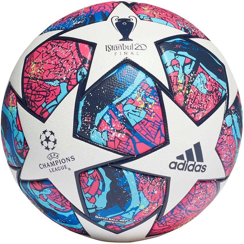Futbol topu Adidas FINALE ISTANBUL COMPETITION, Ağ/Göy/Qırmızı, Ölçü 5