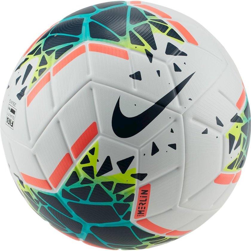 Futbol topu Nike Merlin, Ağ/Qara/Mavi, Ölçü 5