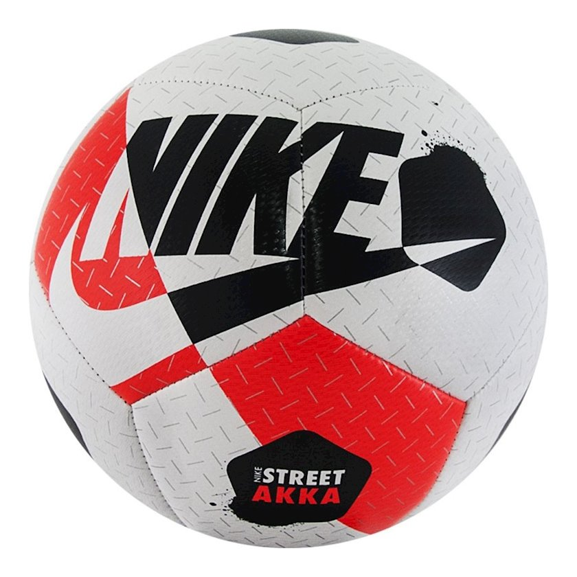 Futbol topu Nike Street Akka, Ağ/Qara/Qırmızı