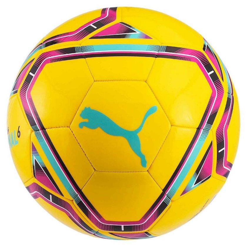 Futbol topu Puma Final 6 MS, Sarı/Qara/Mavi/Çəhrayı, Ölçü 5