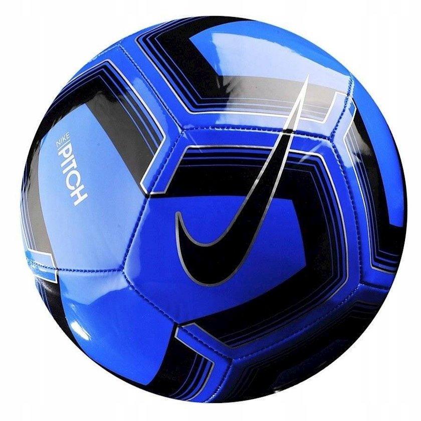 Futbol topu Nike Pitch Training Ball, Göy/Qara, Ölçü 5