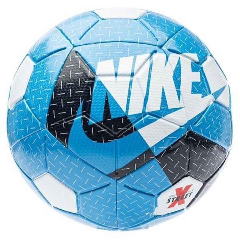 Futbol topu Nike Airlock Street X, Göy/Qara/Ağ, Ölçü 5