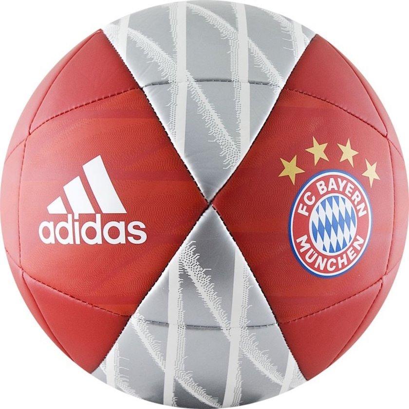 Futbol topu FC Bayern Munchen Capitano, Qırmızı/Boz/Ağ, Ölçü 4
