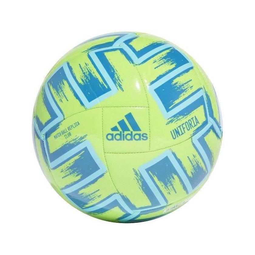 Futbol topu Adidas Uniforia Club Euro 2020, Yaşıl/Mavi/Göy, Ölçü 5