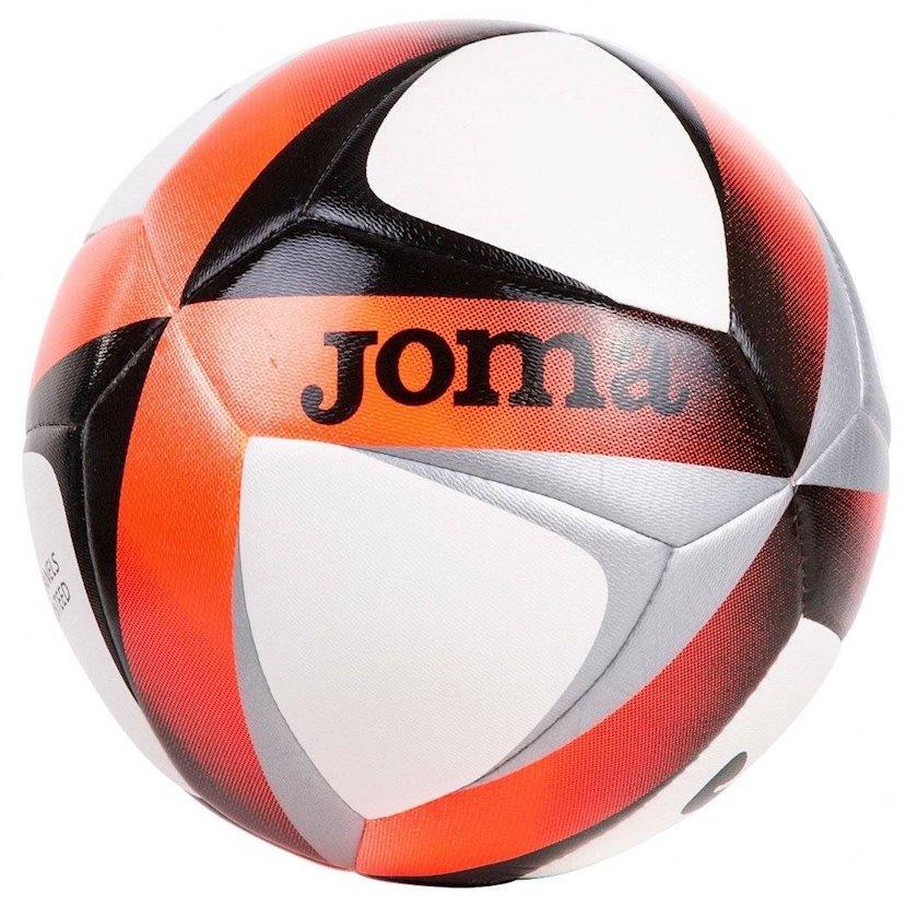 Futbol topu Joma VICTORY JR SALA HYBRID, Ağ/Narıncı/Qara/Boz