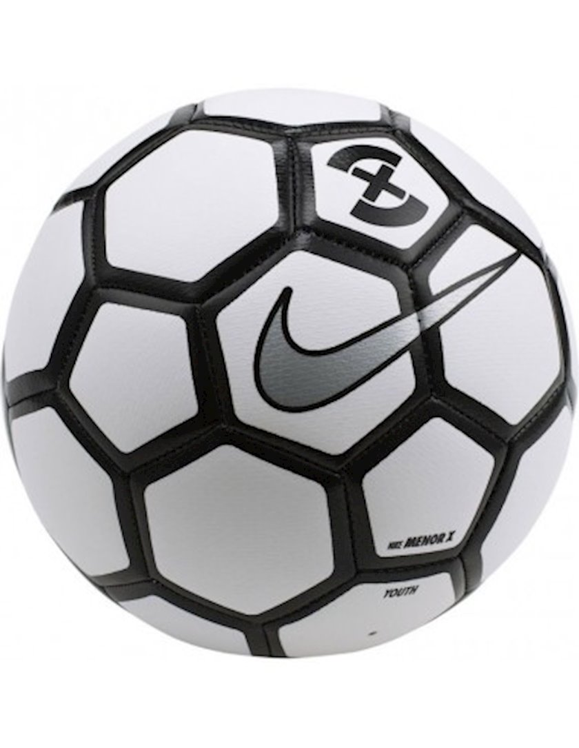 Futbol topu Nike Menor X, Ağ/Qara