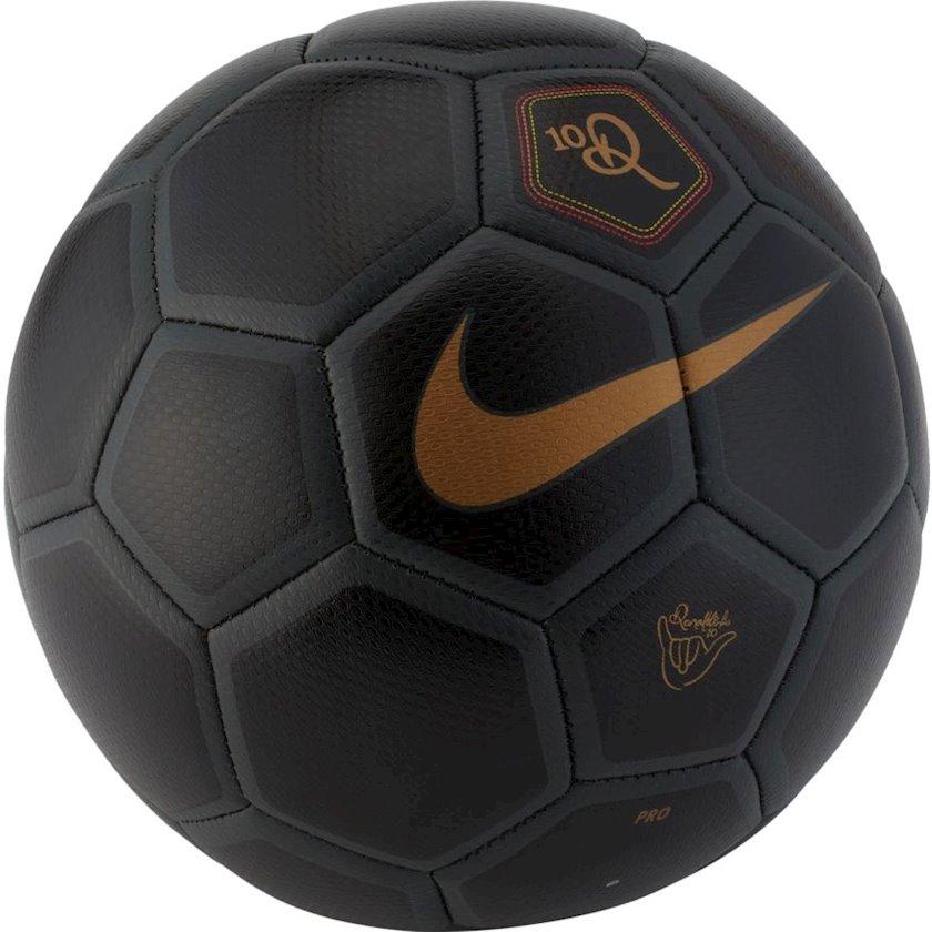 Futbol topu Nike Menor X 10R, Qara/Qızılı, Ölçü 4