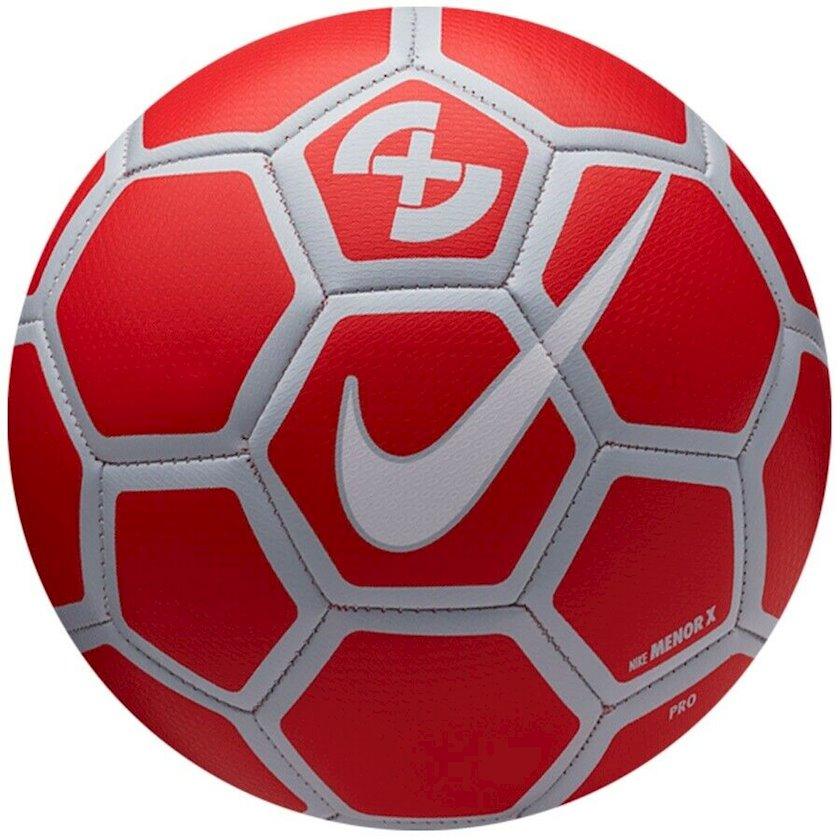 Futbol topu Nike X Menor, Qırmızı/Boz, Ölçü 4