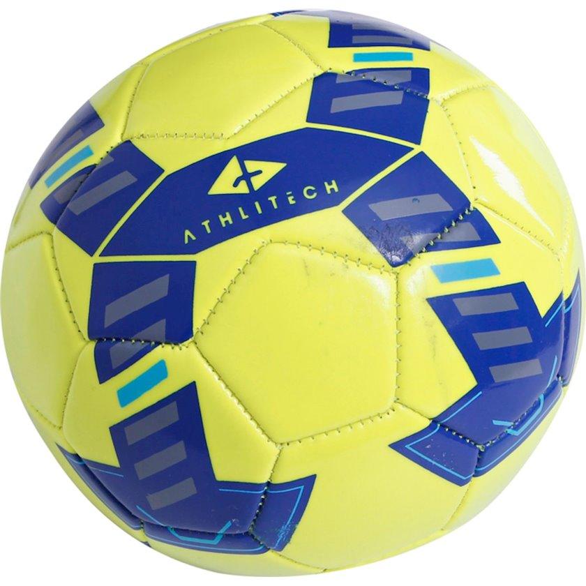 Futbol topu ATHLITECH MINI ATHLI, Sarı/Göy, Ölçü 1