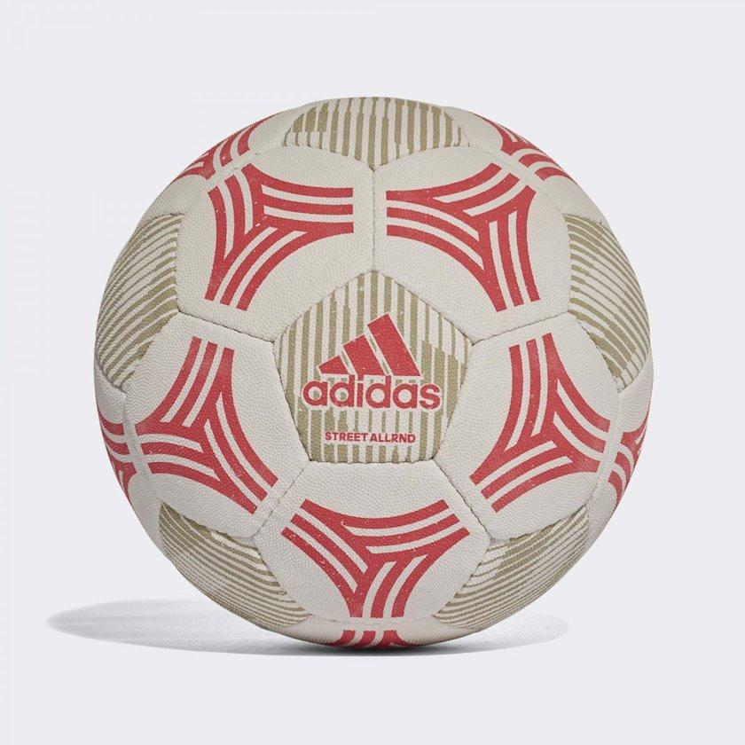 Futbol topu Adidas Tango Allaround Street, Ağ/Qırmızı/Boz, Ölçü 5