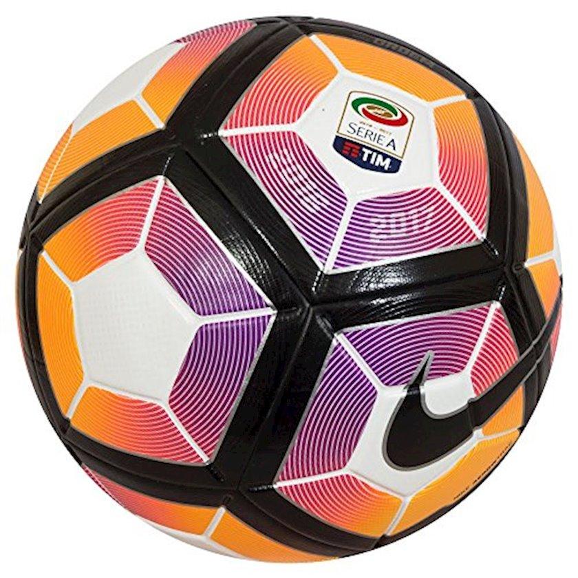 Futbol topu Nike Serie A Ordem 4, Ağ/Qara/Bənövşəyi/Narıncı, Ölçü 5