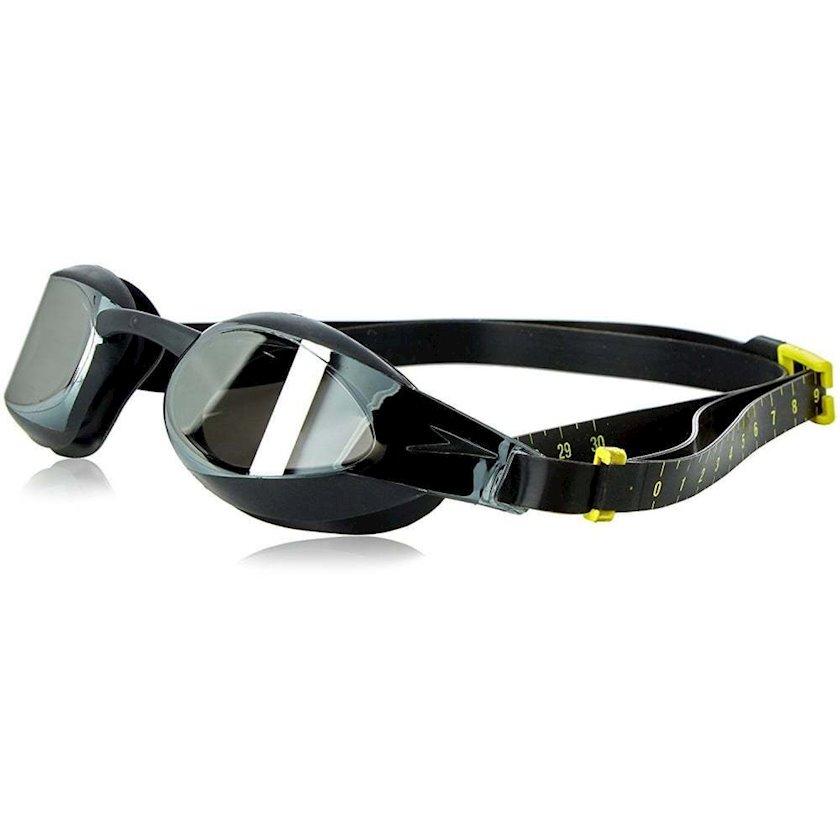 Üzgüçülük üçün eynək Speedo Fastskin3 Elite Goggle Mirror, uniseks, qara