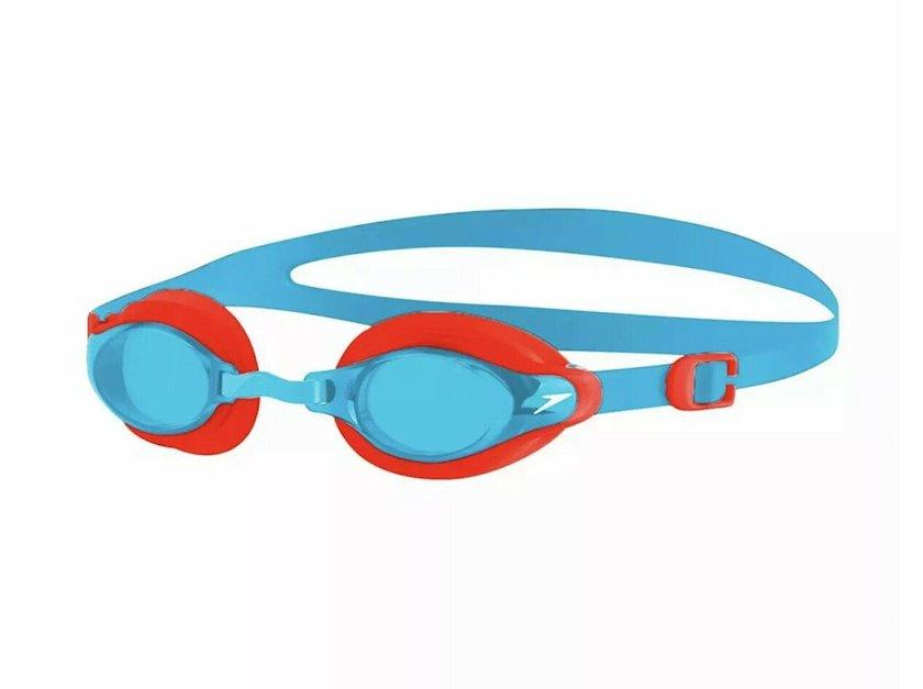 Üzgüçülük üçün eynək Speedo Junior Mariner Supreme, uşaqlar üçün, mavi/qırmızı