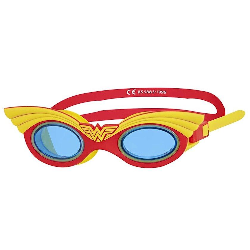 Üzgüçülük üçün eynək Zoggs Wonder Woman, uşaqlar üçün, qırmızı/sarı