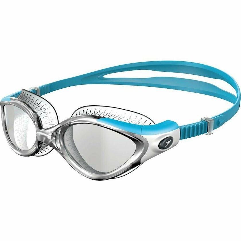 Üzgüçülük üçün eynək Speedo Futura Biofuse Flexiseal, qadınlar üçün, mavi/gümüşü