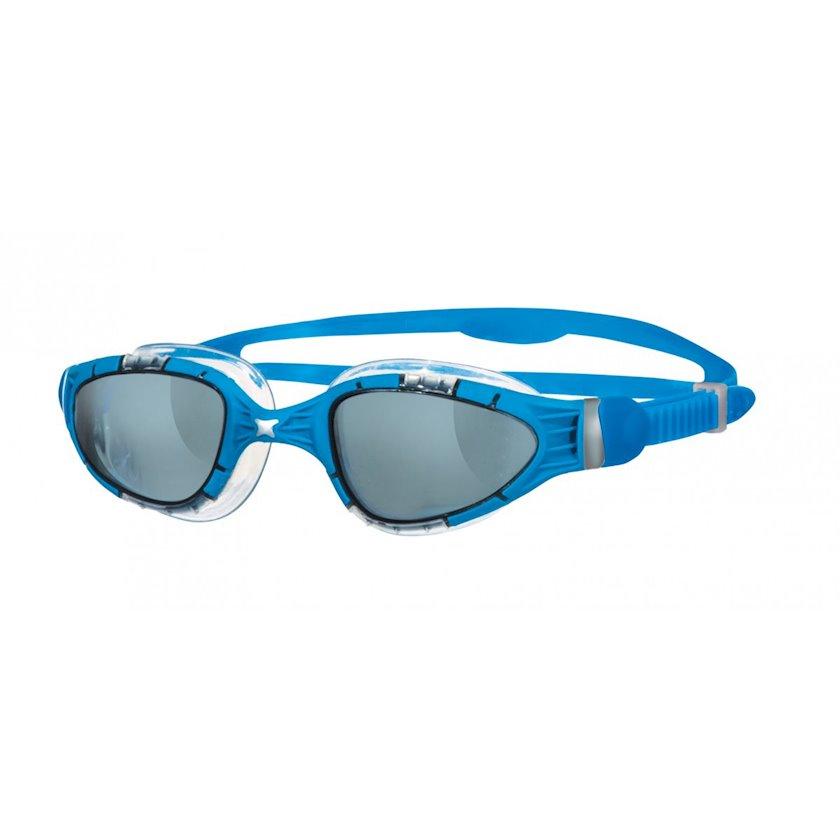 Üzgüçülük üçün eynək Zoggs Aqua Flex, uniseks, mavi/boz