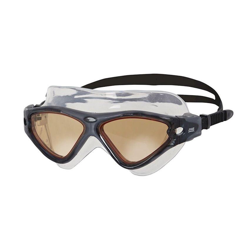 Üzgüçülük üçün eynək Zoggs Tri Vision Mask, uniseks, qara