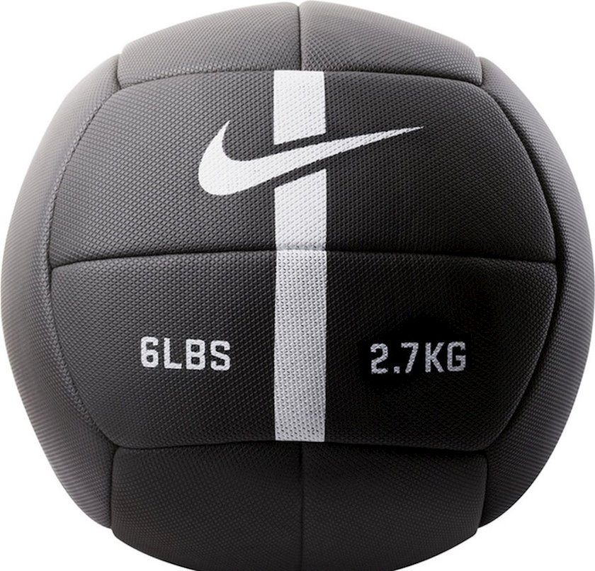 Fitbol Nike Strength Training Ball, 2.7 kq, qara/ağ