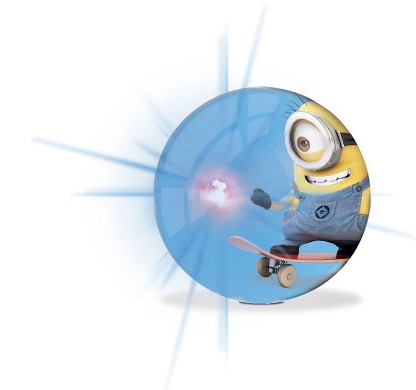 Doldurulan top Mondo Minions Flash Ball, göy, 10 sm