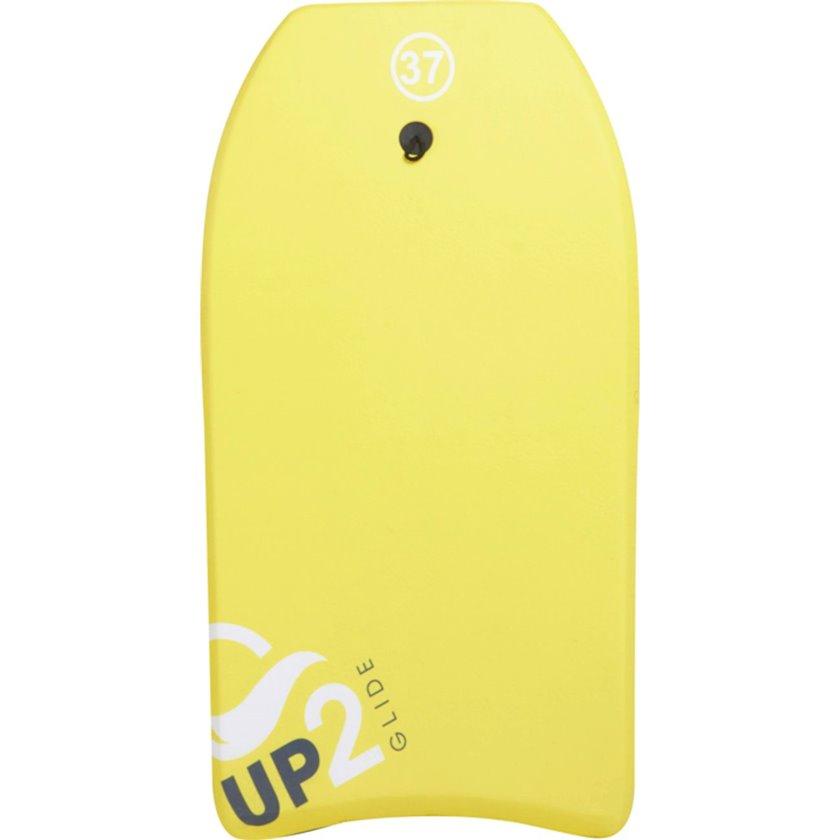 Bodibord Up2glide Bodyboard 37 Yellow