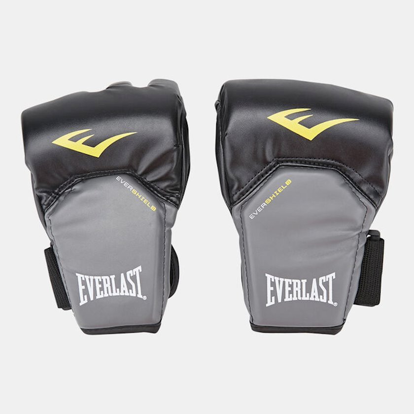 Boks təlim əlcəkləri Everlast MMA Powerlock Competition Style, uniseks, rəng qara/boz, L/XL