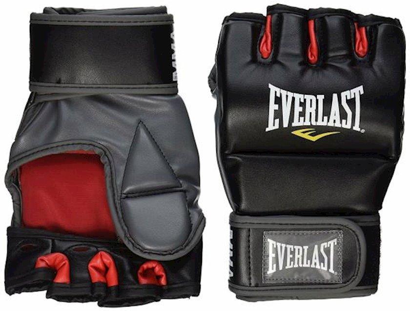 Boks təlim əlcəkləri Everlast Train Advanced MMA, uniseks, rəng qara/qırmızı